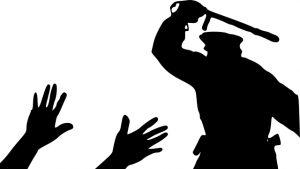 警察暴力執法剪影