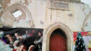 該天主教堂已成危房 破爛不堪