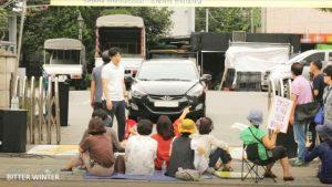 2018年9月2日韓國全能神教會遭暴力示威