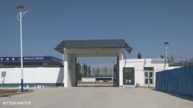 教育轉化營旁邊建有大型生產基地