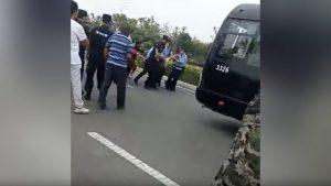 村民被拘捕