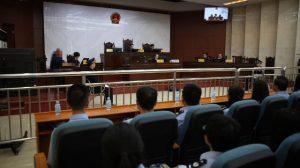 赤峰市法院庭審(網絡圖片)