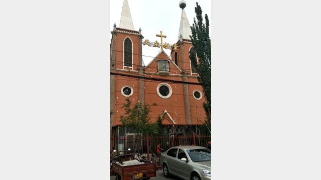 麻池教堂外景(知情人提供)