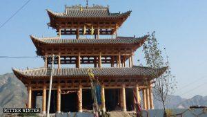 新建成的玉皇廟