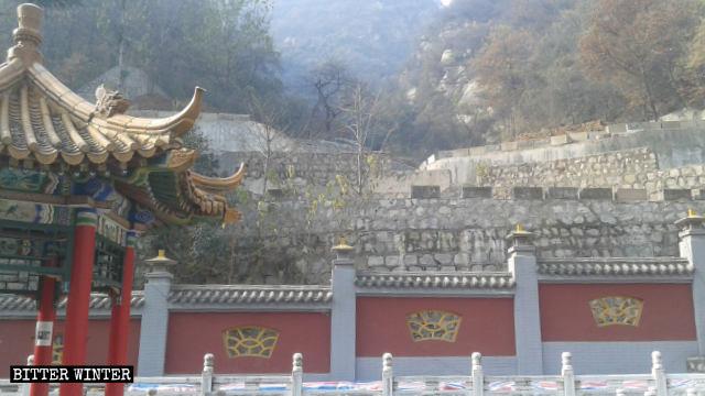 龍王殿被拆後