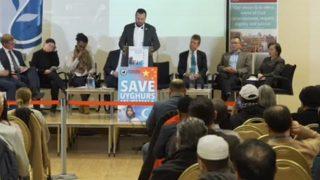 英國穆斯林集會聲援維吾爾人
