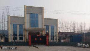 河南省洛陽市福昌村三自教堂改造後