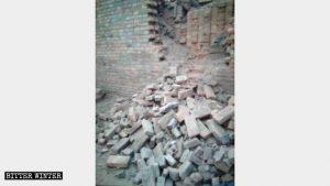 河北省一鑄佛像窯廠被拆毀