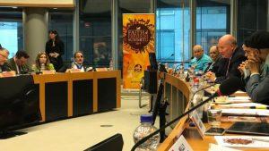 馬西莫·英特羅維吉(Massimo Introvigne)在布魯塞爾信仰與自由峰會上講話