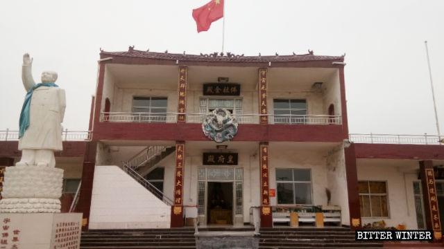 毛澤東露天雕像