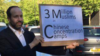 孑然一身 鬥志不減:一個倫敦猶太人聲援維吾爾人的故事