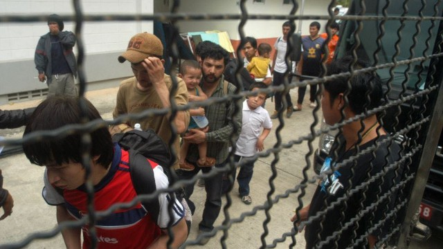 被關押在泰國的維吾爾人(世界維吾爾代表大會)