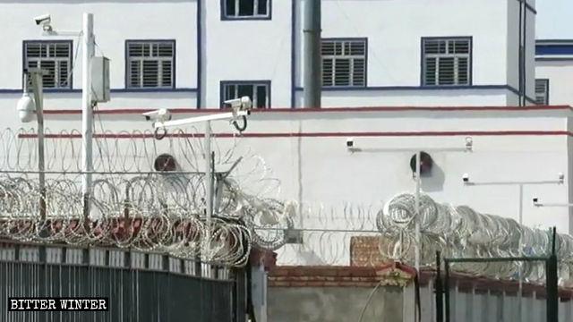 新疆哈密市某教育轉化營
