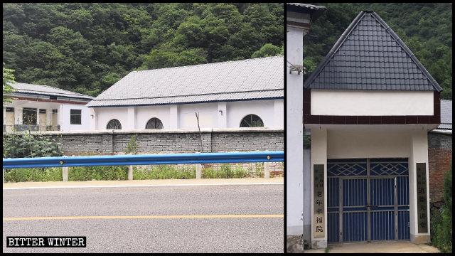 獅子廟鎮教堂被當局低價充公,僅補償實際價的少部分