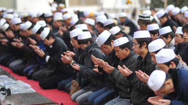 回族穆斯林(網絡圖片)