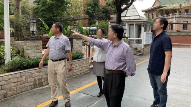 某地領導正在四處檢查宗教場所(網絡圖片)