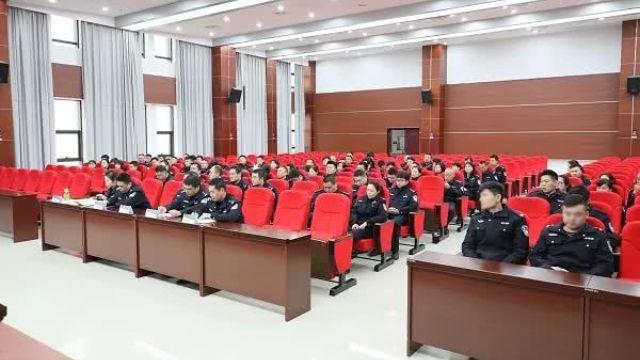 湖南省湘潭市一公安分局召開掃黑除惡工作推進會(網絡圖片)