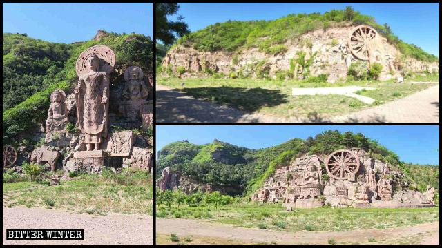 持續滅佛:58尊摩崖佛像被剷平 兩寺院800羅漢像也拆光