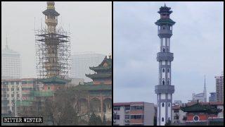 數百年歷史北大清真寺遭中國化改造 信徒控訴中共微信群遭封