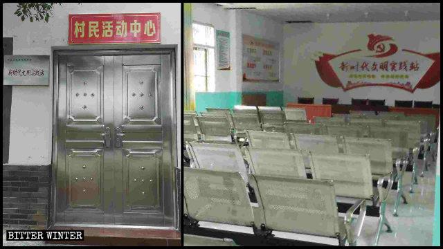 撫州市東鄉區一三自聚會點被改成新時代文明實踐站
