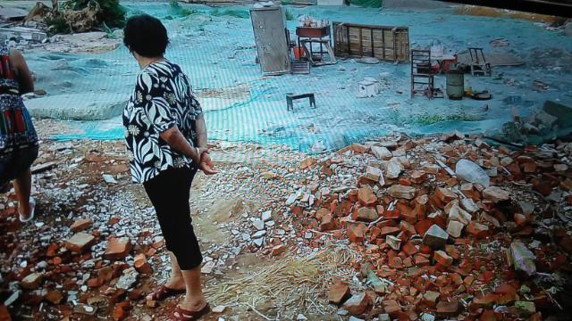 村民們的房子被拆成廢墟(知情人提供)