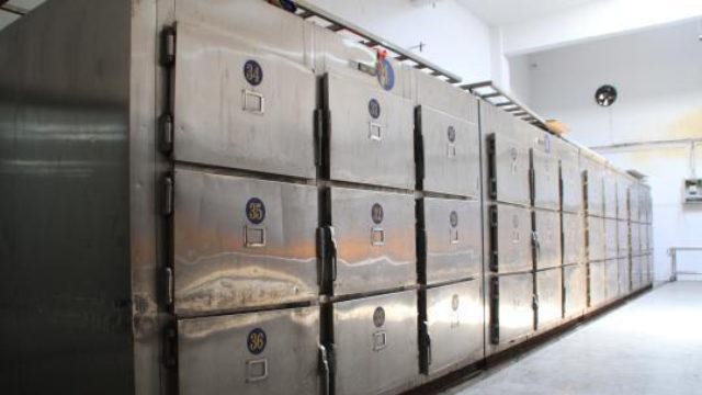 遺體冷凍室(網絡圖片)