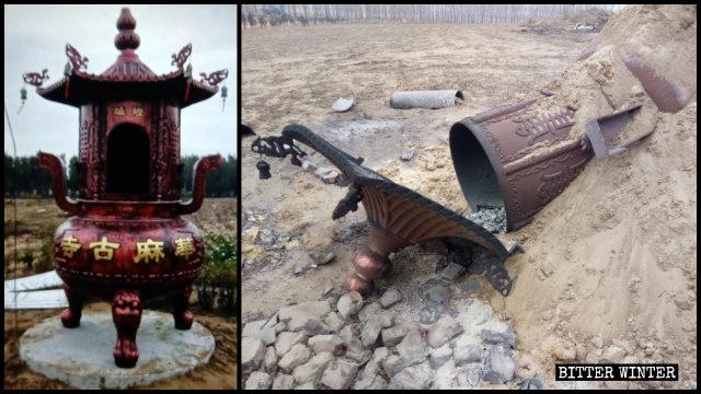 官媒眼中的愛國典範寺廟亦難逃查封 廟主欲上訪遭威脅