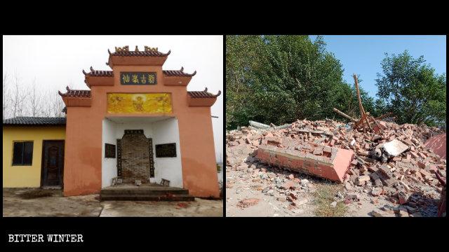 不滅宗教不罷休:湖北再拆多座佛道寺廟 廟主上訪被捕
