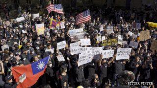 全球連線共抗極權:24國大遊行 受迫害宗教團體加入力撐香港