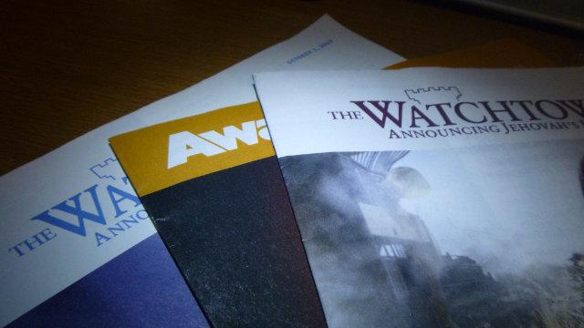 耶和華見證人的出版物 (公有領域)
