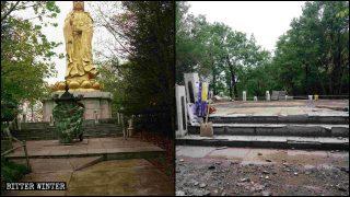 「超高」成強拆藉口:著名大佛像再遭拆 5米觀音像也難逃