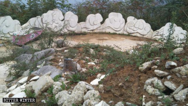 南海觀⾳3月底被拆除