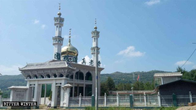 團咀清真老寺被整改前