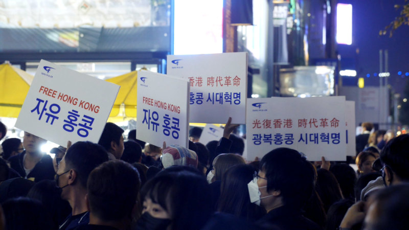香港 民主 化 運動