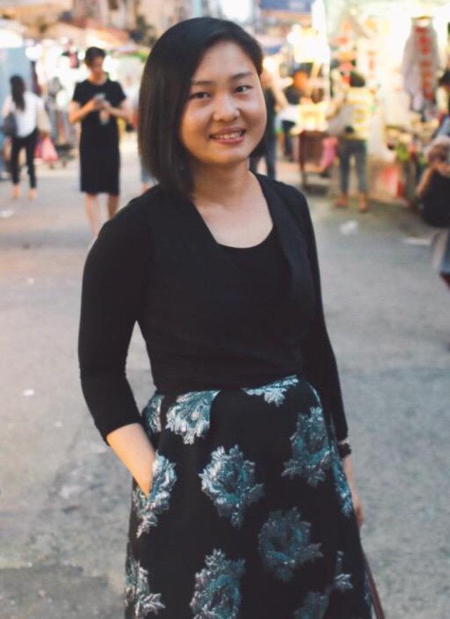 香港出生的獨立記者彭碧珊
