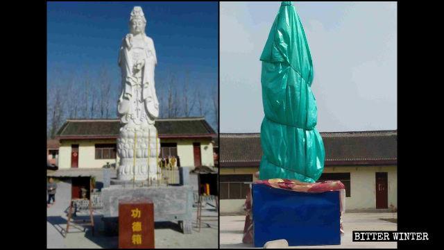 「看不順眼」「沒有教育意義」 五百餘佛像因荒誕理由遭封拆
