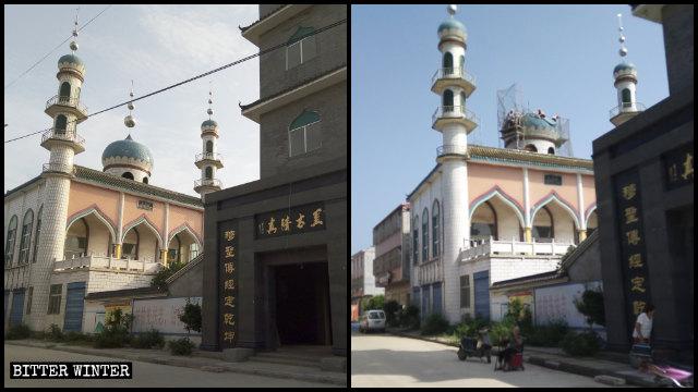 宗教風格建築再難見 中共重金大改清真寺、教堂成中式建築