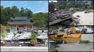 地方官員被逼立拆廟軍令狀 價值4千萬禪院遭夷為平地