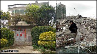 六旬維權村民遭暴打丟包險死 執法人員暴力強拆致多人受傷