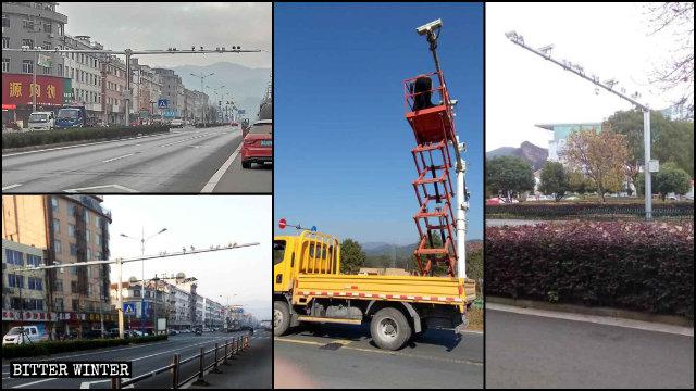 2019年,浙江省各地安裝大量監控攝像頭