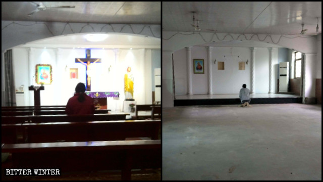 博野縣一天主教堂在警方突襲後被清空