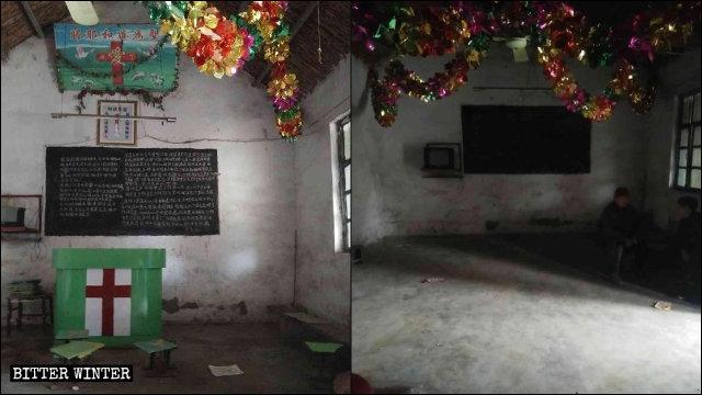 棗莊市市中區稅郭鎮一處聚會點被清空