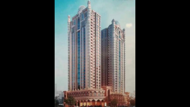哈姆杜拉的所有房產均被中共沒收,庫爾勒奇蘭巴格大廈只是其中一處