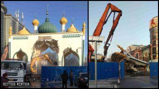 毀伊斯蘭文化:北京拆著名清真街建築 吉林千家商鋪「杜瓦」消失