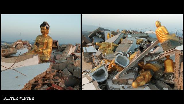 旺佛樓被拆成廢墟