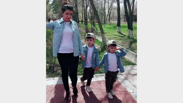 多安·埃爾多安的小姨子和她的孩子,現在她正在被拘留中