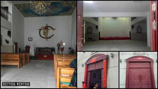 下璜村天主教堂已被清空