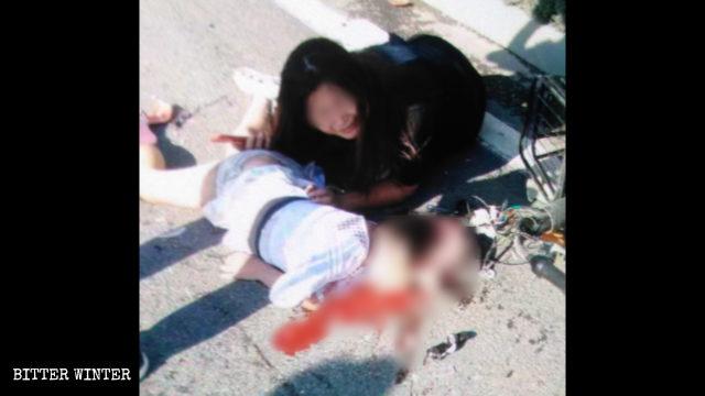 死於車禍的小女孩