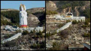 禁藏佛教傳播拆觀音像、轉經筒 官員:宗教是跟共產黨搶陣地