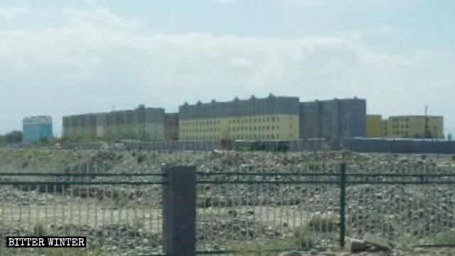 莎车县孜热甫夏提塔吉克民族乡一处教育转化营
